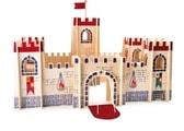 Dřevěný rytířský hrad