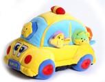 Motorické plyšové auto